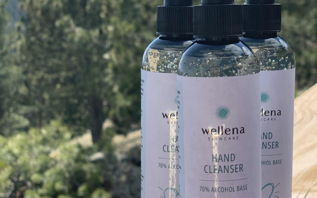 I have a safe, NON-TOXIC Hand Sanitizer for you. (in stock now)