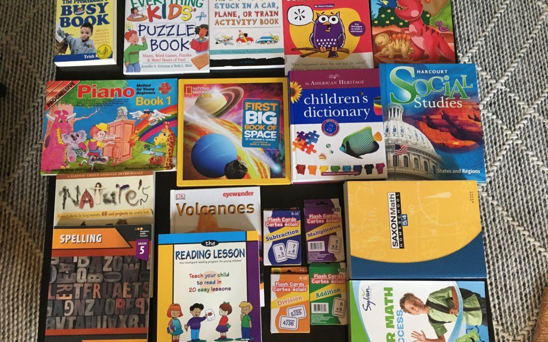 Homeschool Learning Bundle (K-4) – $50